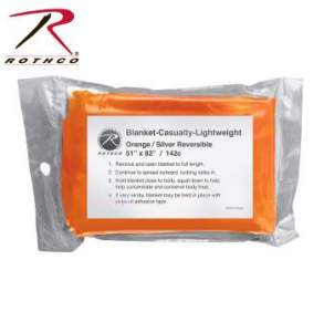 Rothco Polarshield Survival Blanket - 1043-B - Orange