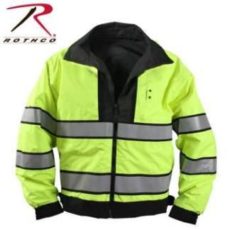 Rothco Reversible Hi-visibility Uniform Jacket - 8720_reflective_hr