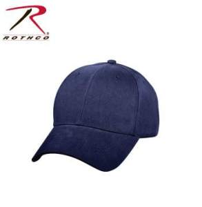 Rothco Supreme Solid Color Low Profile Cap - 8286-hr1 - Navy Blue