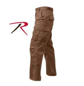Rothco Tactical BDU Pants - 8578-C - Brown