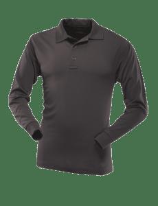 TRU-SPEC - Long Sleeve Performance Polo - Black - 4406F