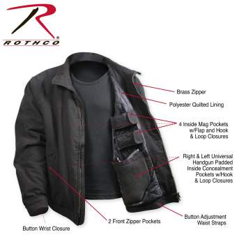 Rothco 3 Season Concealed Carry Jacket - 5385-Z