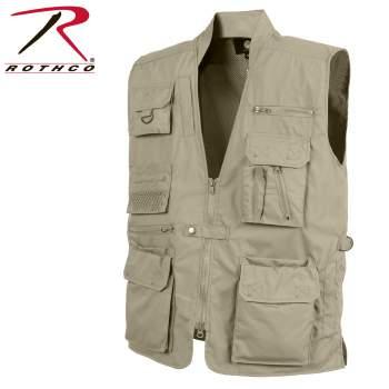 Rothco Plainclothes Concealed Carry Vest - Khaki - 8567-Khaki-C2