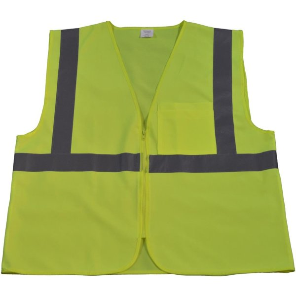 Petra Roc - ANSI ISEA Class 2 Safety Vest - LV2-CB0 - Lime Solid