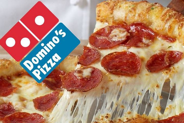 , Domino's 50% OFF until 31st May