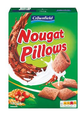 Nougat Pillow crownfield Cereals