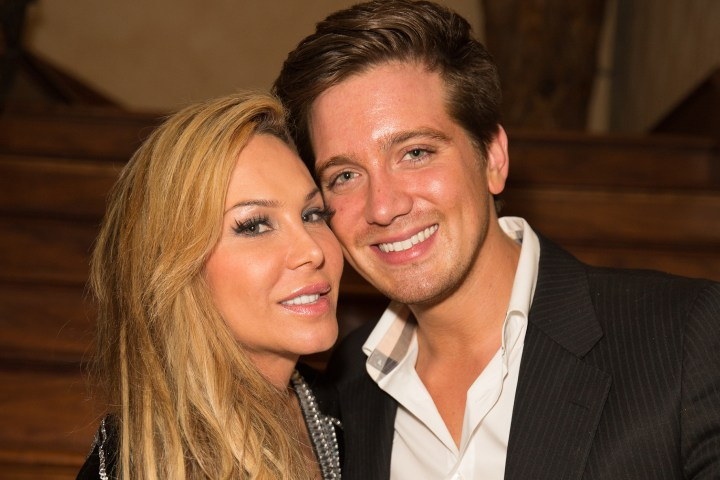 adrienne maloof with Jacob Busch