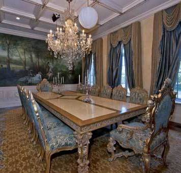 Adrienne Maloof dining room