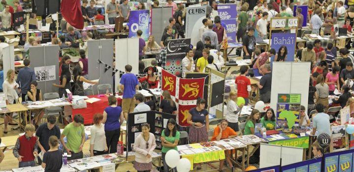 CUSU Societies Fair 2011