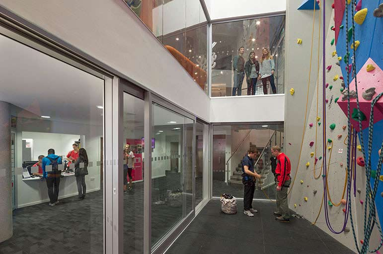 climbing centres in Nottingham