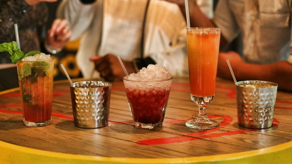 Turtle Bay Cocktails