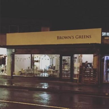 Browns Greens cafe Leeds