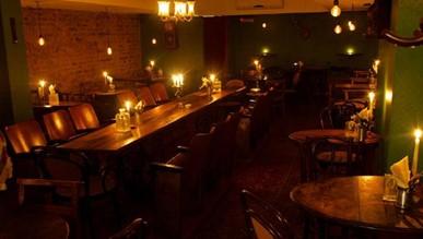 Evans and Peel bar London