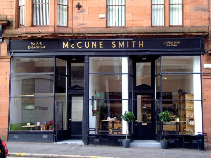 McCune Smith, Glasgow