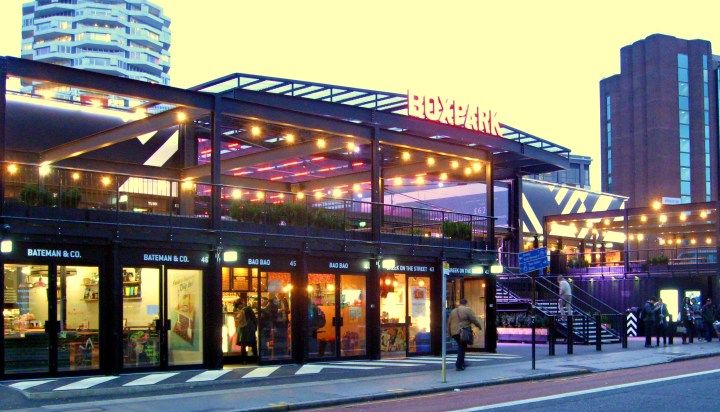 Boxpark things to do in london as a student