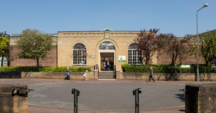 Beeston Public Library nottingham