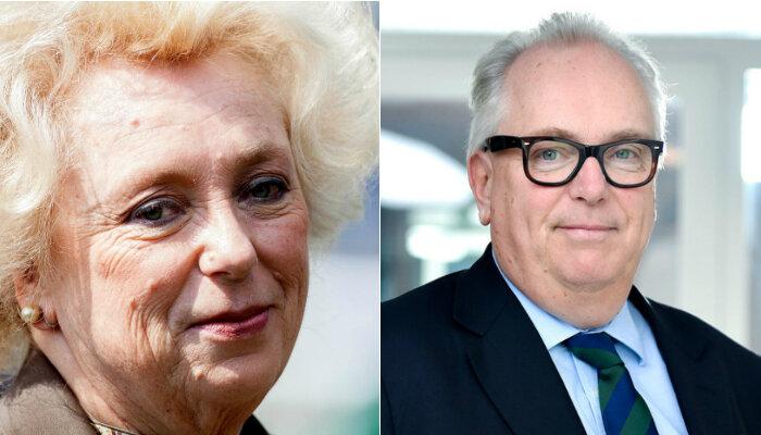 Kirsten and Journ Rausing UK billionaires