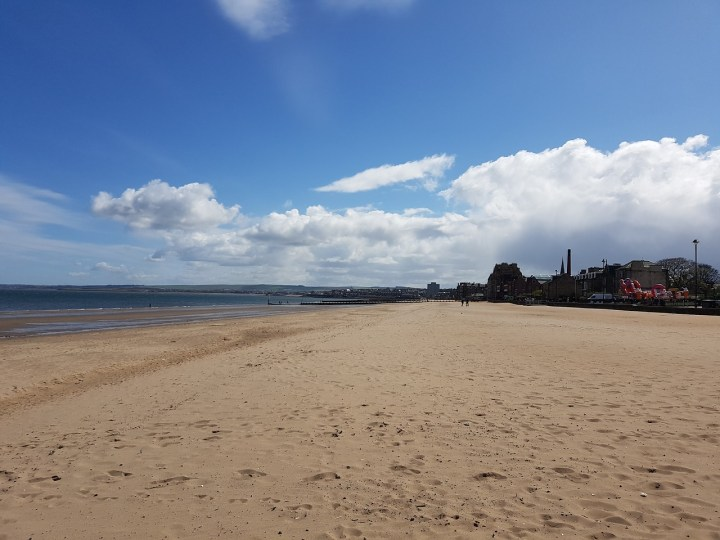 Portobello Beach things to do in Edinburgh as a student