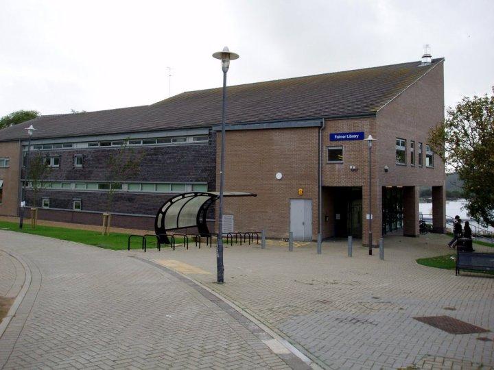 Falmer Library Brighton