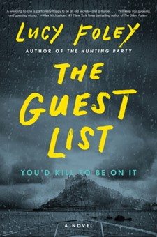 The Guest List books to read in lockdown