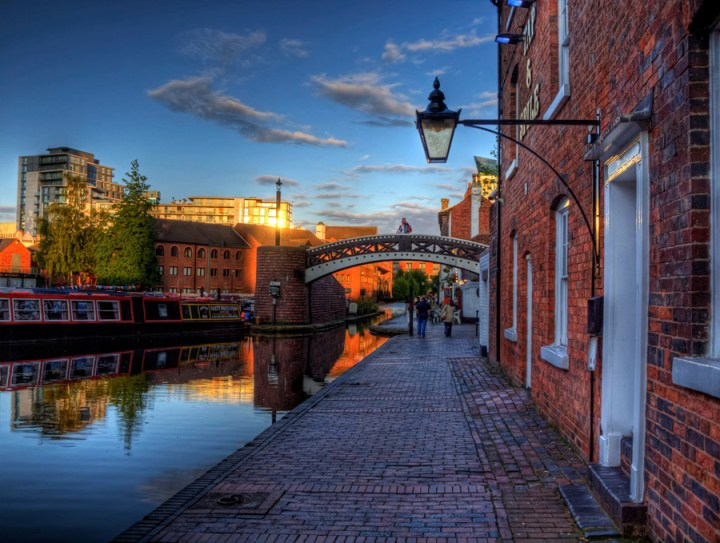 canals things birmingham is famous for