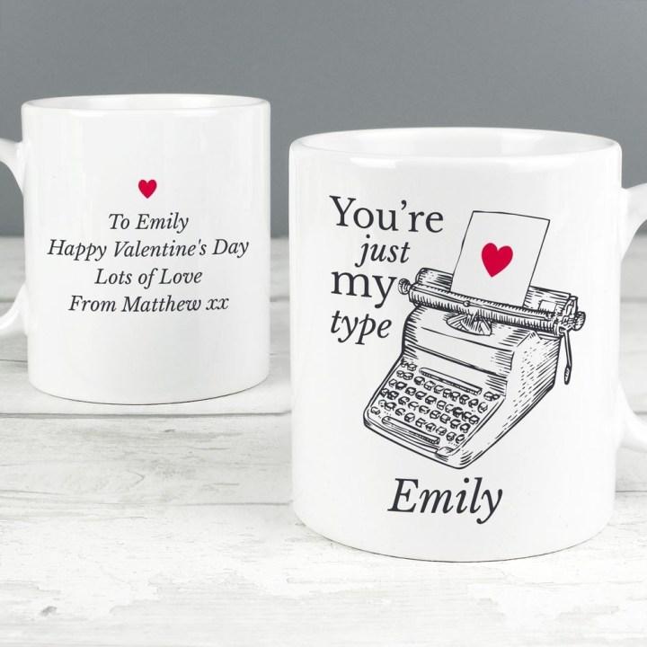 Personalised Mug Valentine's Day Gifts