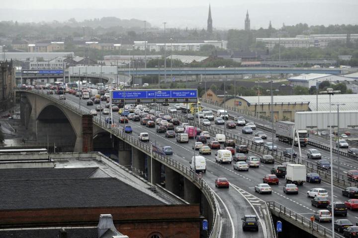 Kingston Bridge Glasgow