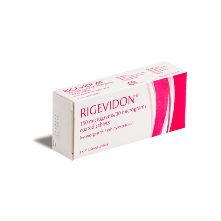 rigevidon contraceptive pills