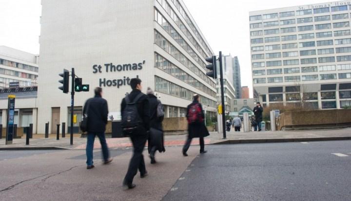 london hospital work experience