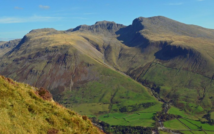 Scafell Pike places to hike uk