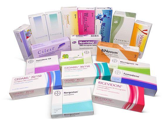 birth control tablets