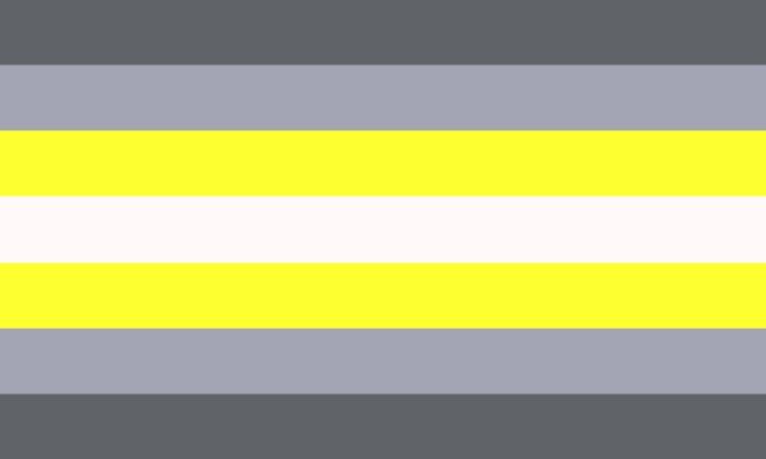Demigender Pride Flag