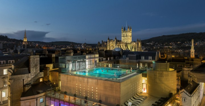 best things to do in Bath for students - Thermae Bath Spa