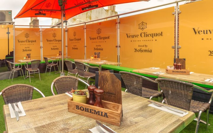 bohemia brighton outdoor restaurant