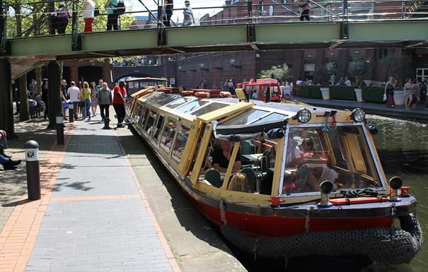 best things to do in Birmingham for students canal boat birmingham