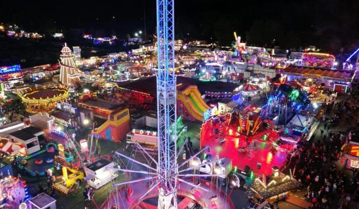 goose fair- 20 best things for students Nottingham