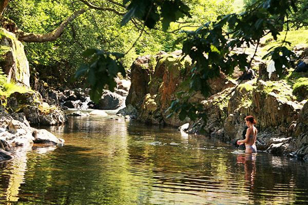 Yorkshire wild swimming