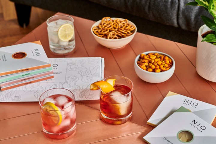 NIO Cocktails alcohol delivery