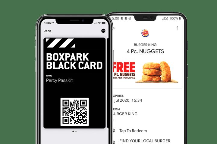 Boxpark shoreditch black card