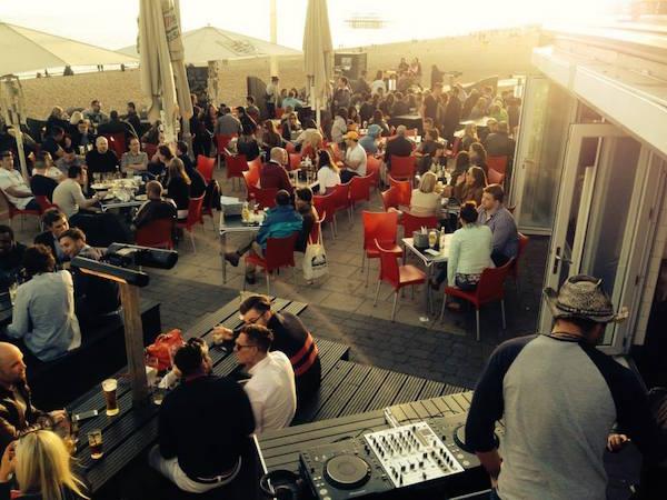 Oh So Social brighton outdoor restaurant