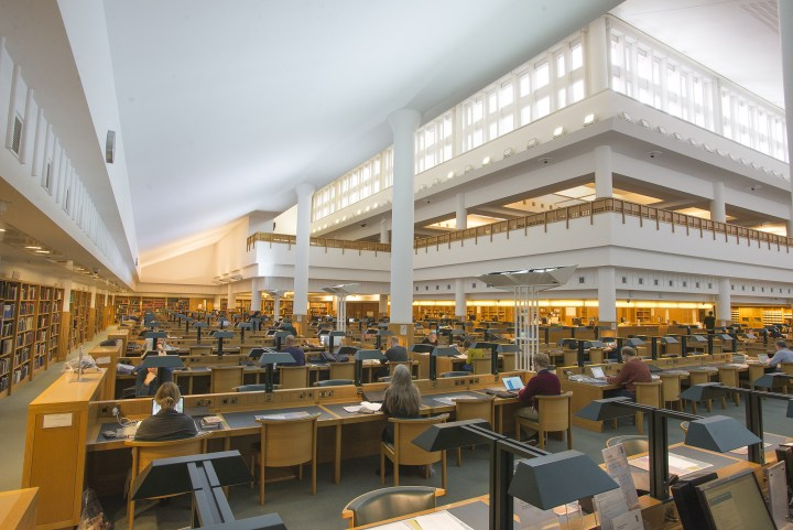 libraries in London
