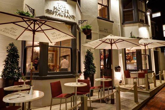 The Hosue Restaurant brighton outdoor restaurant