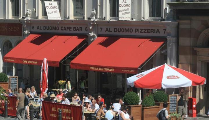 Al Duomo brighton outdoor restaurant