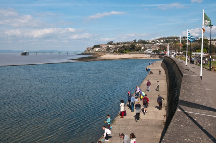 Clevedon Sea Front Views.