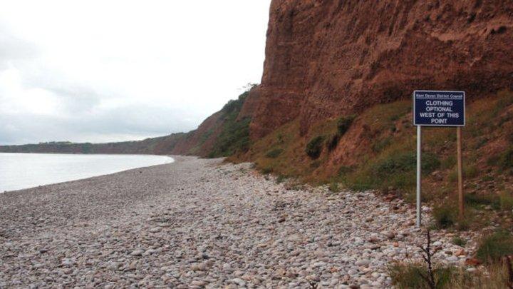 devon naturist beach