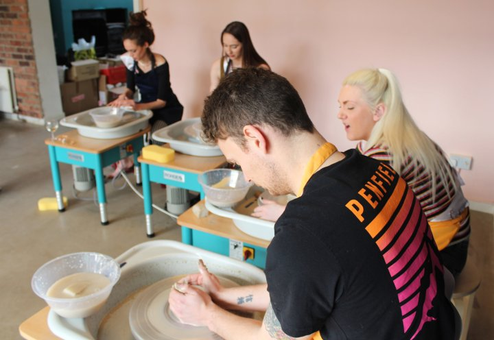 The pottery experience newcastle