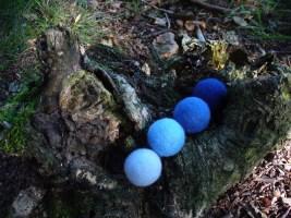 Filzperlen im Wald 3