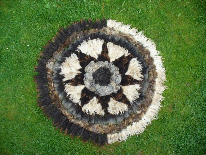 Woll-Mandala