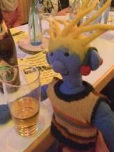 Sein erstes Bier