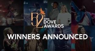 52nd Annual GMA Dove Awards Winners List